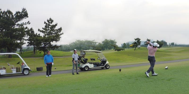 社内ゴルフ大会