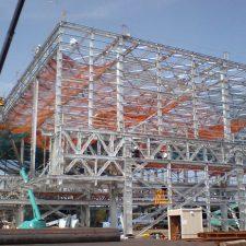 今治市某造船所工場