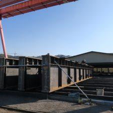 工場クレーンガーダー更新工事